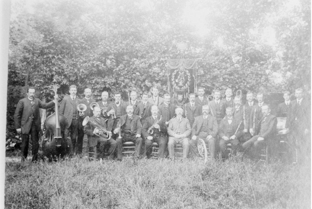 Schagens Harmonie omstreeks 1920