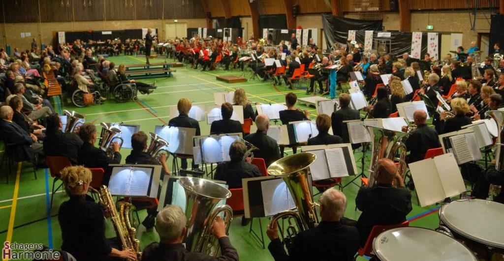 25-10-2014 145 jaar Schagens Harmonie