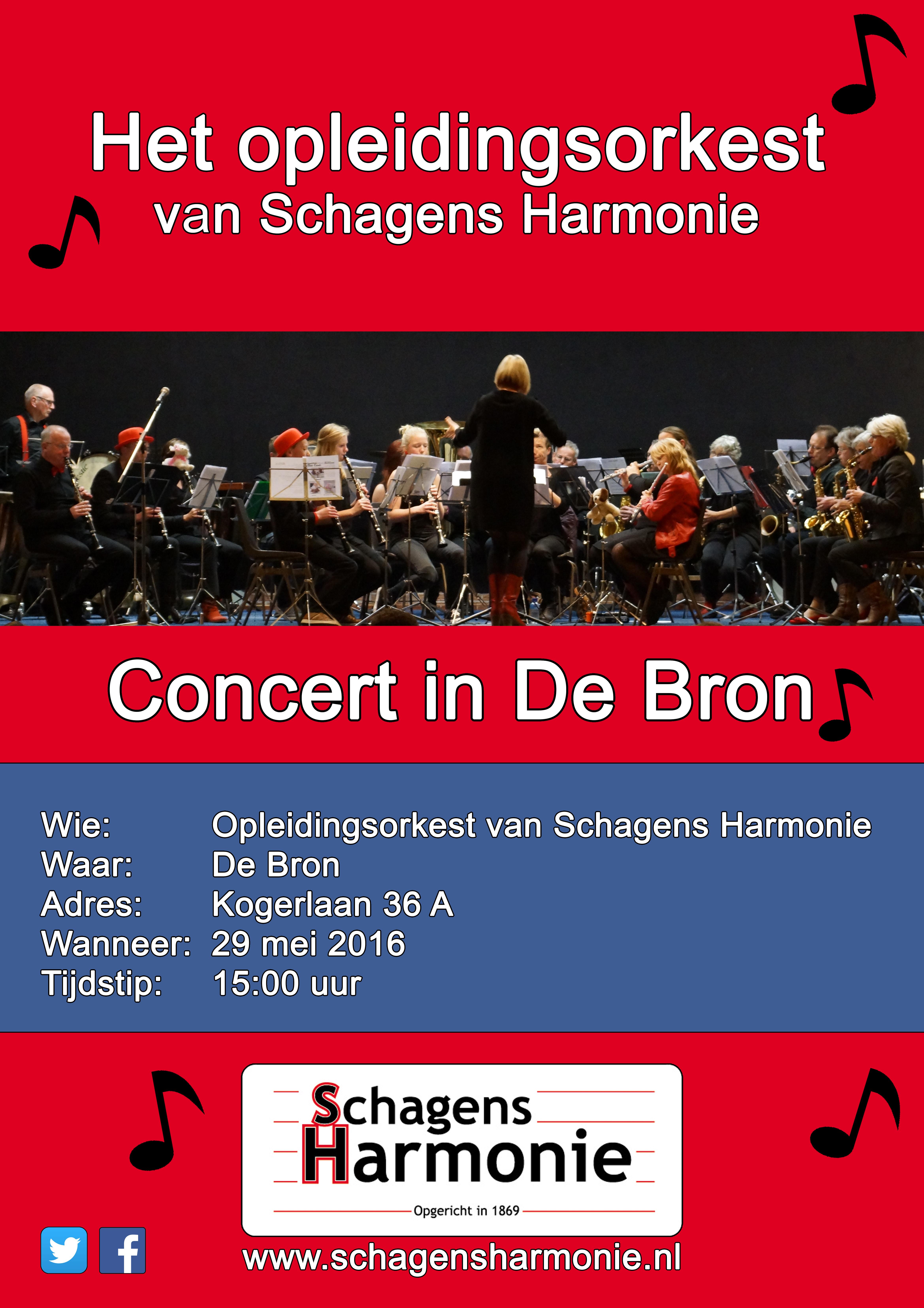 Concert Opl ork in de Bron